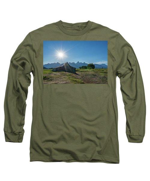 Mormon Row Long Sleeve T-Shirt by Alpha Wanderlust