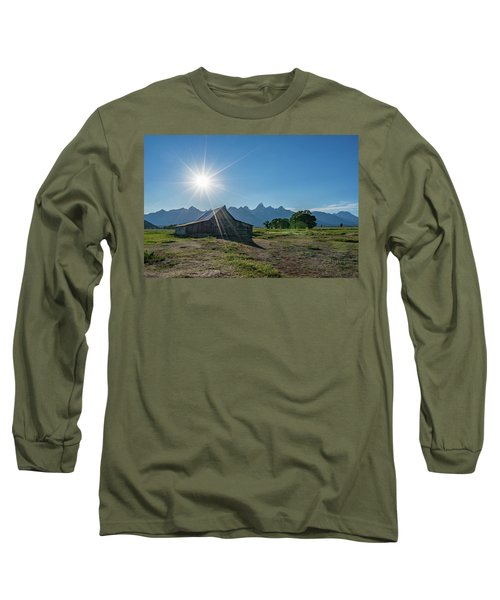 Mormon Row Long Sleeve T-Shirt