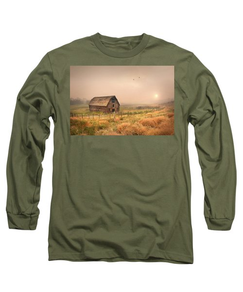 Long Sleeve T-Shirt featuring the photograph Morning Flight by John Poon