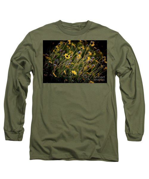 Morning Flowers Long Sleeve T-Shirt by Kelly Wade
