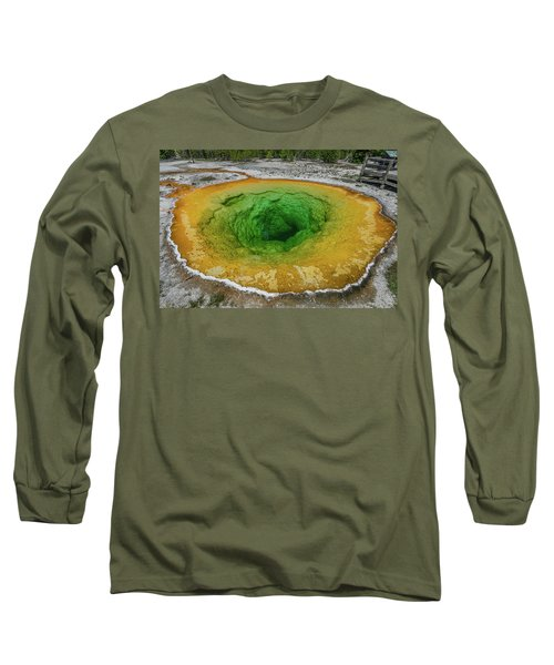 Morning Glory Long Sleeve T-Shirt by Alpha Wanderlust