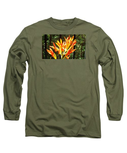 Long Sleeve T-Shirt featuring the photograph Morning Glory by Jake Hartz
