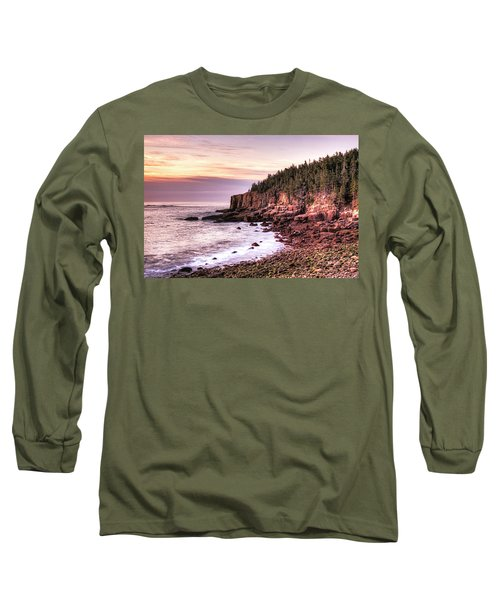 Morning In Acadia Long Sleeve T-Shirt