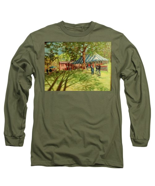 Morning In Ringgold Long Sleeve T-Shirt by Janet McGrath