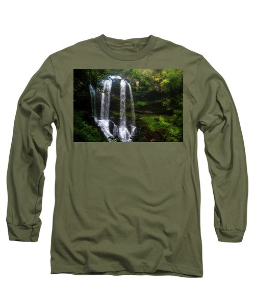 Long Sleeve T-Shirt featuring the photograph Morning In The Mist by Allen Carroll