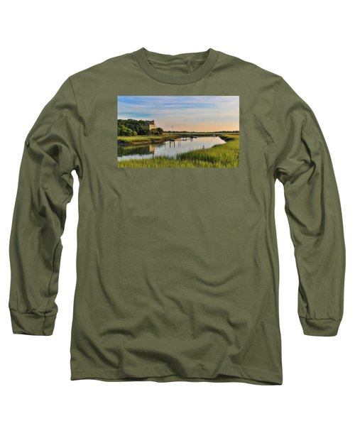 Morning On The Creek - Wild Dunes Long Sleeve T-Shirt