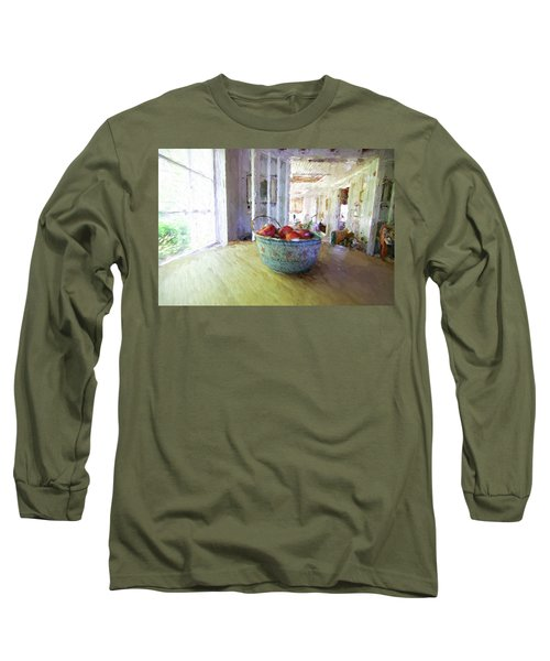 Morning On The Farm Long Sleeve T-Shirt