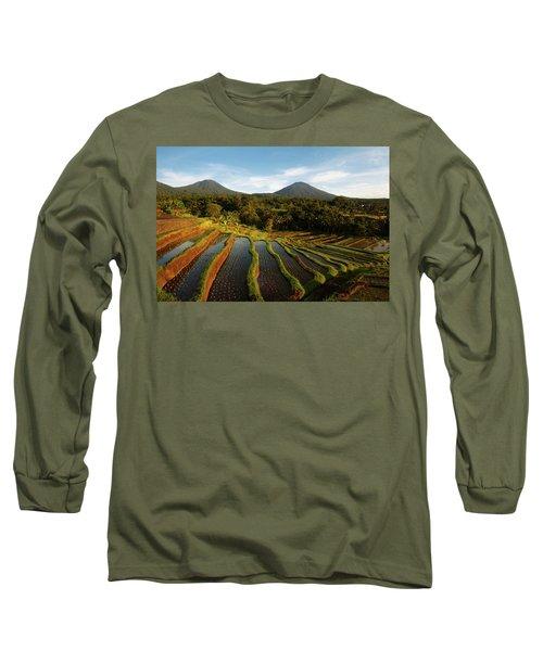 Morning On The Terrace Long Sleeve T-Shirt