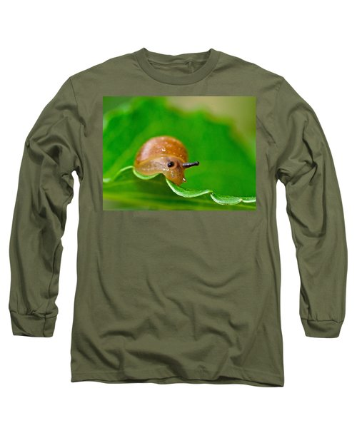Morning Snail Long Sleeve T-Shirt