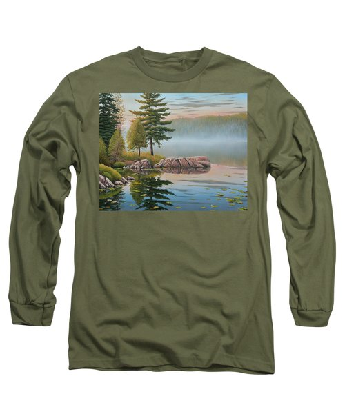 Morning Stillness Long Sleeve T-Shirt