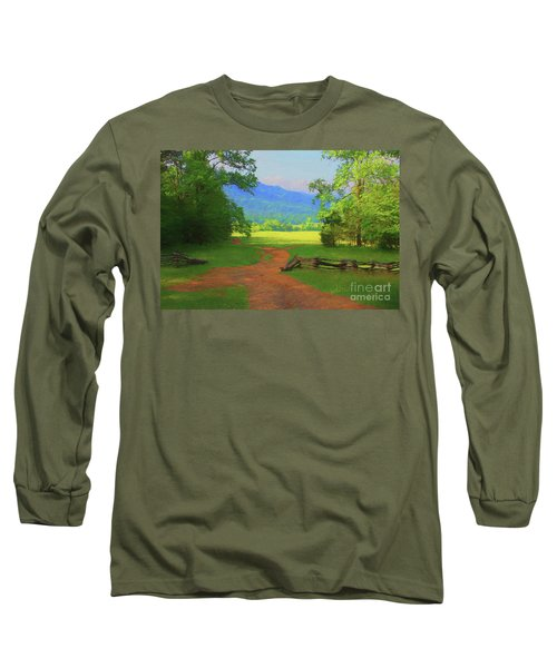 Morning View Long Sleeve T-Shirt by Geraldine DeBoer