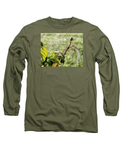 Morning Web #1 Long Sleeve T-Shirt