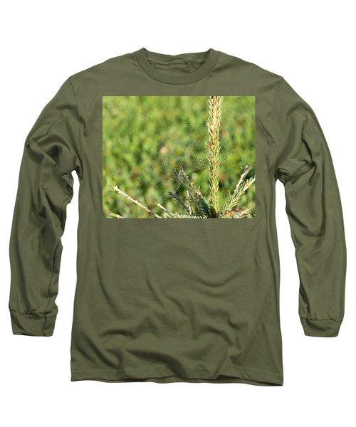 Morning Web #2 Long Sleeve T-Shirt