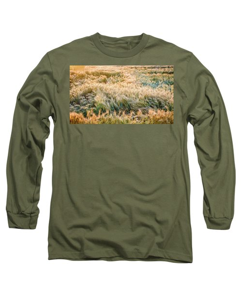 Morning Wheat Long Sleeve T-Shirt