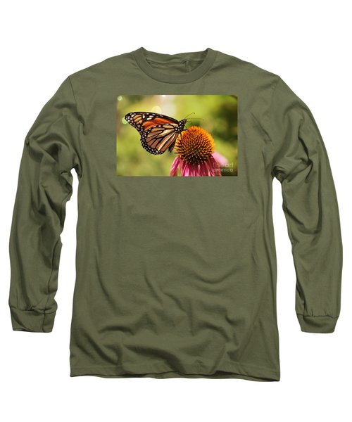 Morning Wings Long Sleeve T-Shirt by Yumi Johnson