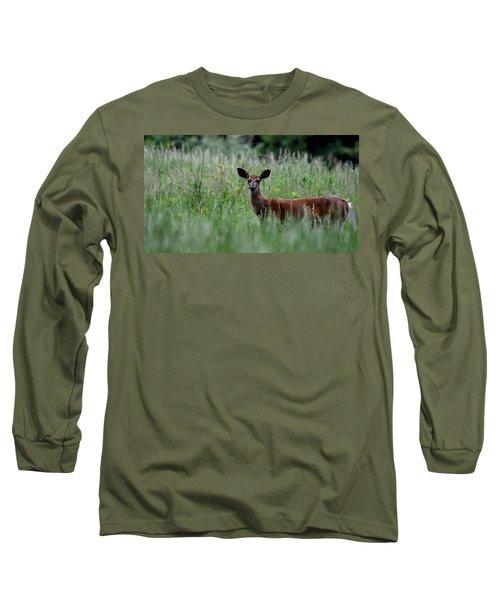 Morninng Deer Long Sleeve T-Shirt