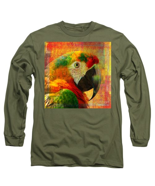 Mosaic Macaw 2016 Long Sleeve T-Shirt