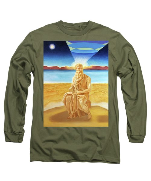 Moshe Rabbenu  Long Sleeve T-Shirt