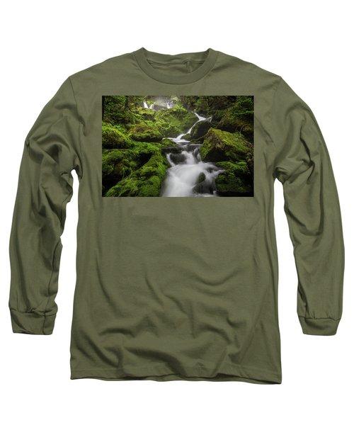 Mossy Fall #3 Long Sleeve T-Shirt