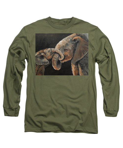 Mother And Baby Long Sleeve T-Shirt