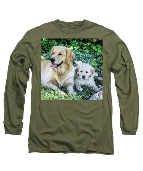 Mother And Pup Long Sleeve T-Shirt