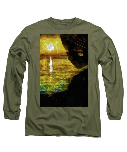 Long Sleeve T-Shirt featuring the photograph Mother Earth Watching by Joseph Hollingsworth