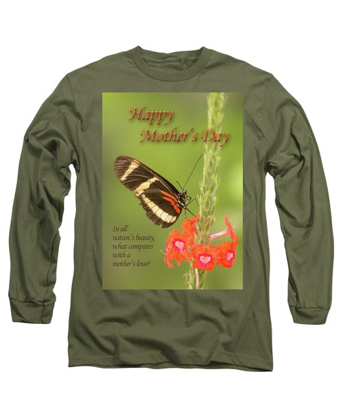 Mother's Day-butterfly Long Sleeve T-Shirt