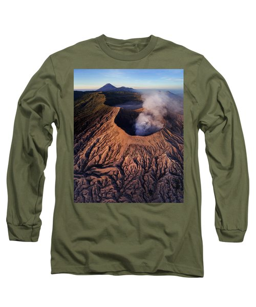Mount Bromo At Sunrise Long Sleeve T-Shirt