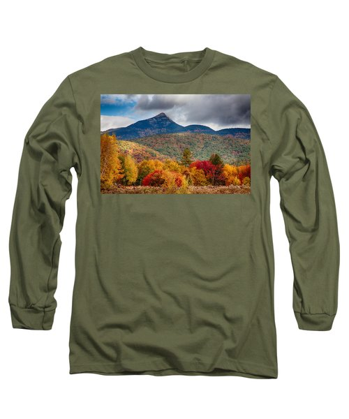 Peak Fall Colors On Mount Chocorua Long Sleeve T-Shirt