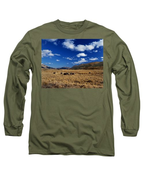 Mount Nicholas Station New Zealand Long Sleeve T-Shirt
