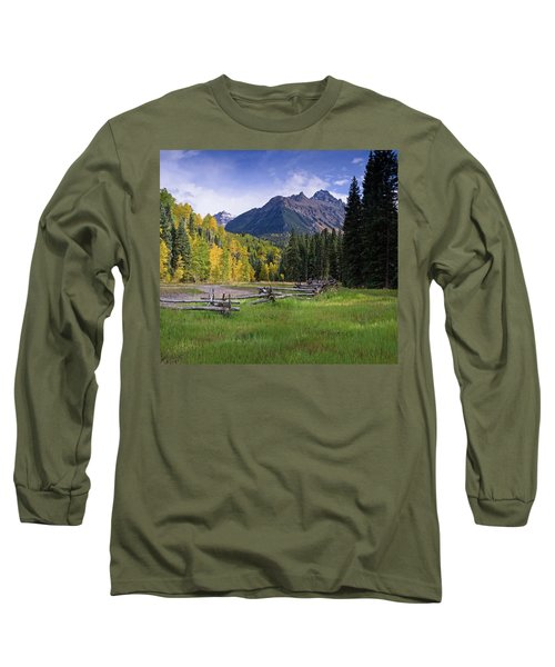 Mount Sneffels In Autumnn Long Sleeve T-Shirt