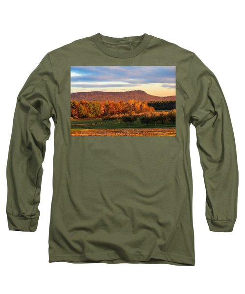 Mount Tom Foliage View Long Sleeve T-Shirt