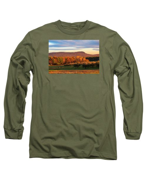 Mount Tom Foliage View Long Sleeve T-Shirt