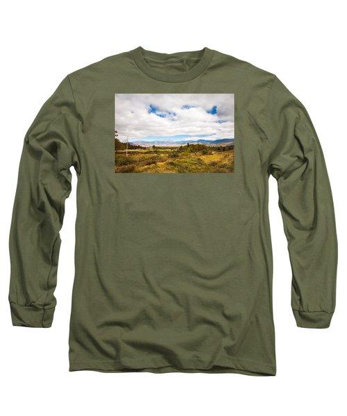 Mount Washington Hotel Long Sleeve T-Shirt by Robert Clifford