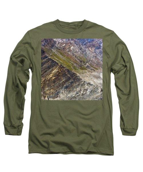 Mountain Abstract 1 Long Sleeve T-Shirt