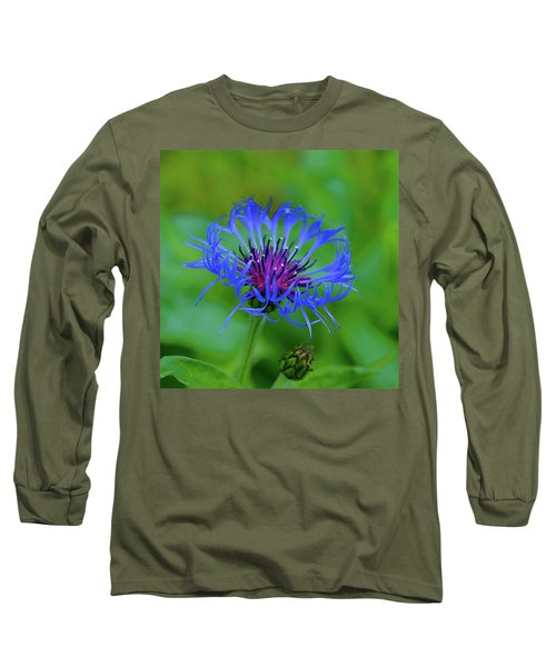 Mountain Cornflower Long Sleeve T-Shirt