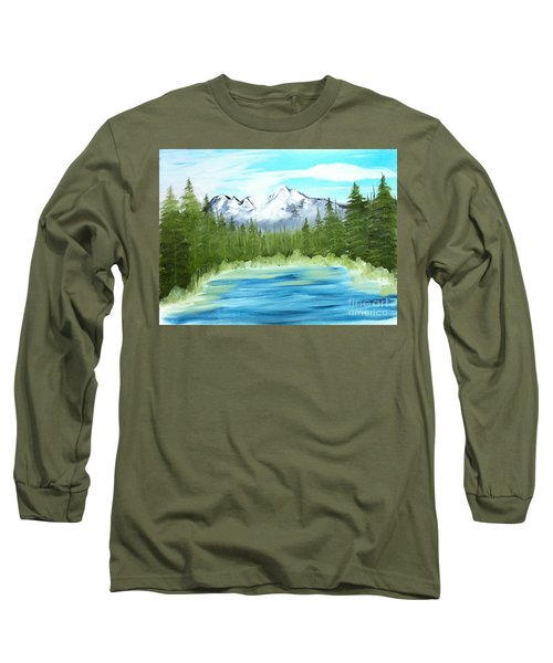 Mountain Imagining Long Sleeve T-Shirt