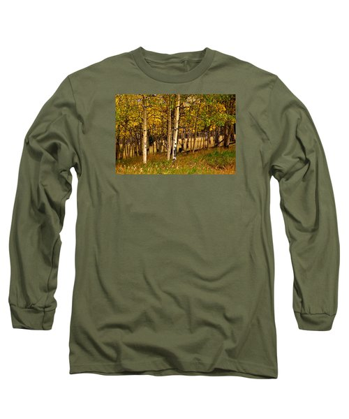 Long Sleeve T-Shirt featuring the photograph Mountain Meadow by Laura Ragland