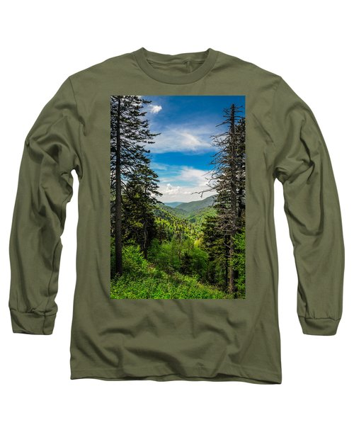 Mountain Pines Long Sleeve T-Shirt