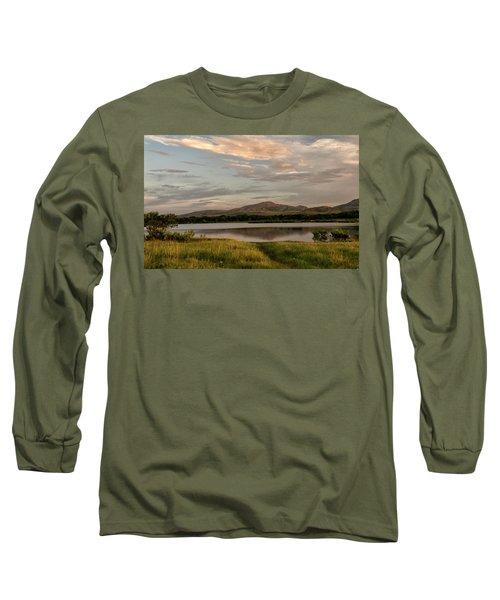 Mountain Reflections Long Sleeve T-Shirt