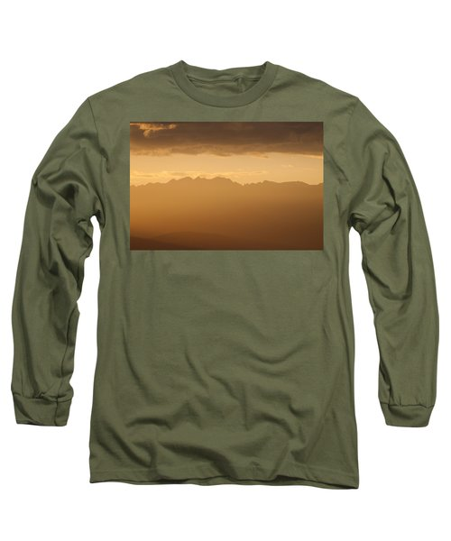 Long Sleeve T-Shirt featuring the photograph Mountain Shadows by Colleen Coccia