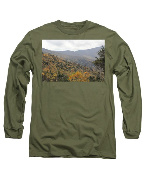 Mountain Side Long View Long Sleeve T-Shirt