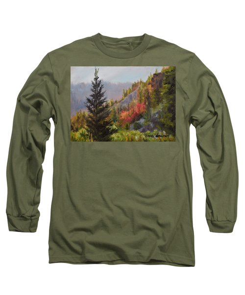 Mountain Slope Fall Long Sleeve T-Shirt