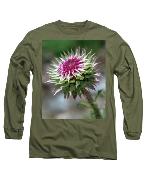 Mountain Thistle Long Sleeve T-Shirt