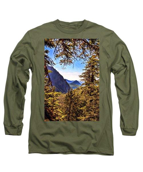 Mountain Views Long Sleeve T-Shirt