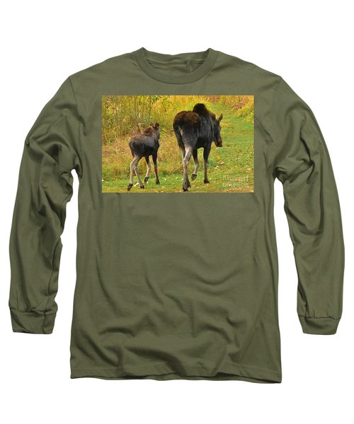 Long Sleeve T-Shirt featuring the photograph Movin On Down The Road by Sam Rosen