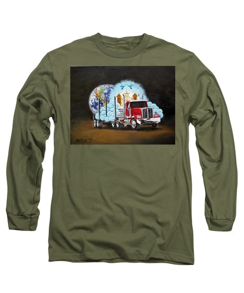 Moving Heaven And Earth  Long Sleeve T-Shirt