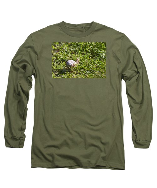 Long Sleeve T-Shirt featuring the photograph Moving by Leif Sohlman