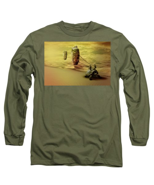 Moving On Long Sleeve T-Shirt by Nathan Wright