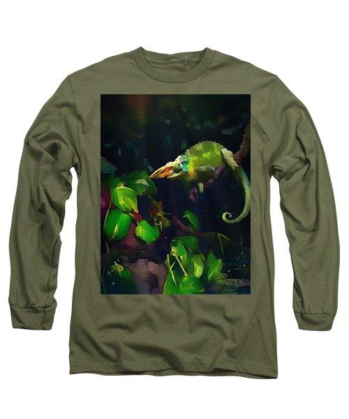 Mr. H.c. Chameleon Esquire Long Sleeve T-Shirt
